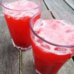 Hindbær limonade
