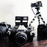 Mine kameraer