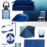 Indret med blå