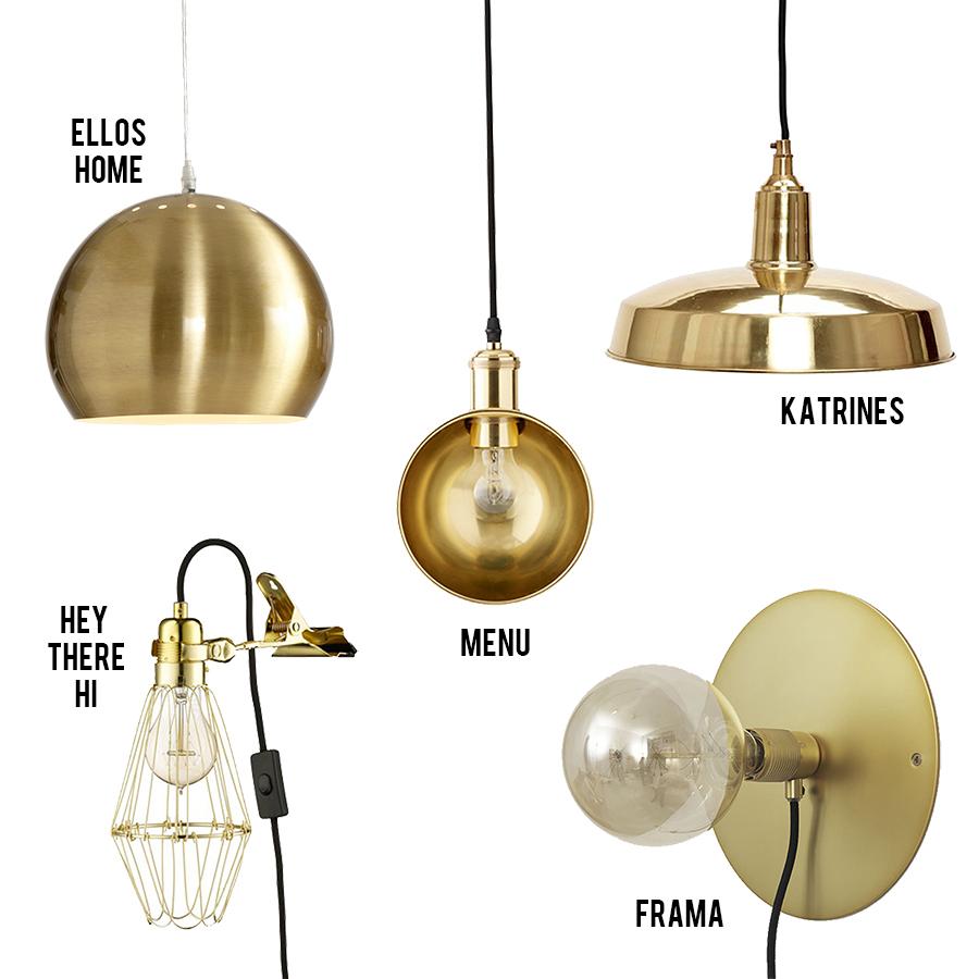 Messing Lampe Ikea - Fine Lamper Simple To Fine Hvide Spejllamper I Porceln Og