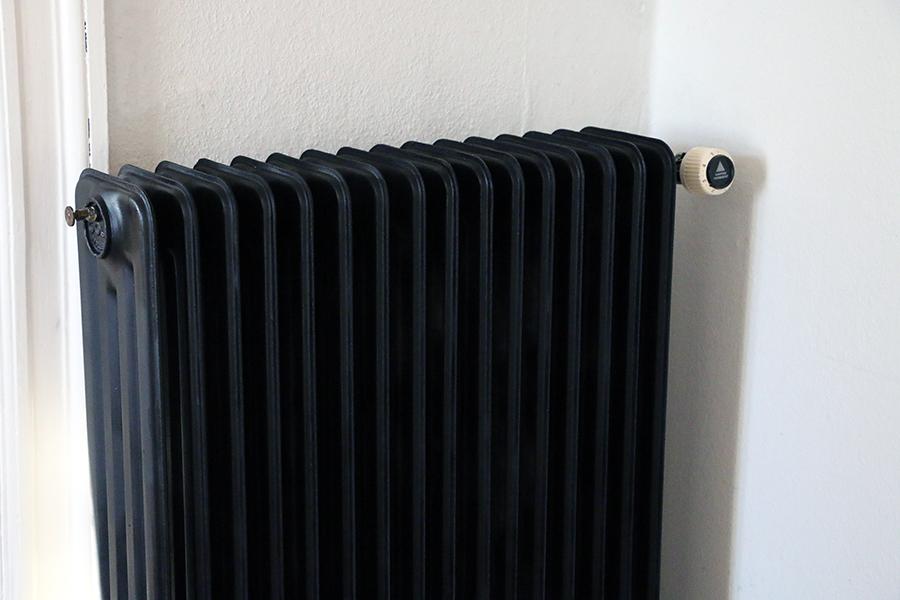 Maling af radiatorrør