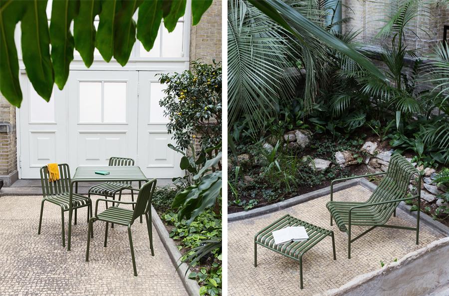 Jeg kigger lidt på de flotte nye Palissade HAY havemøbler!