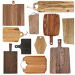 Indret dit køkken med træ skærebrætter