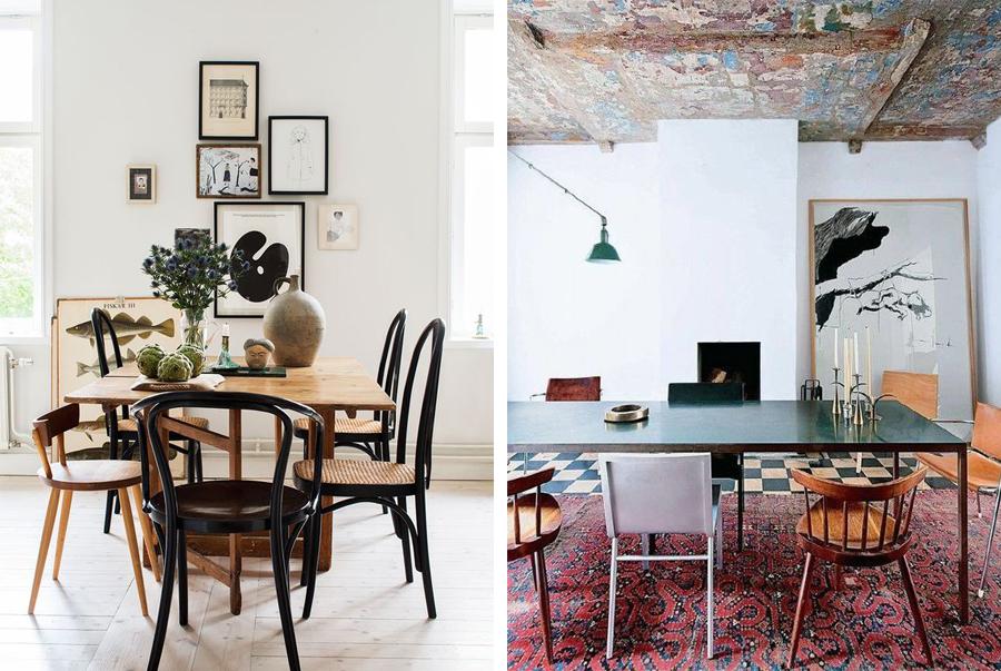 spisebord med forskellige stole-2