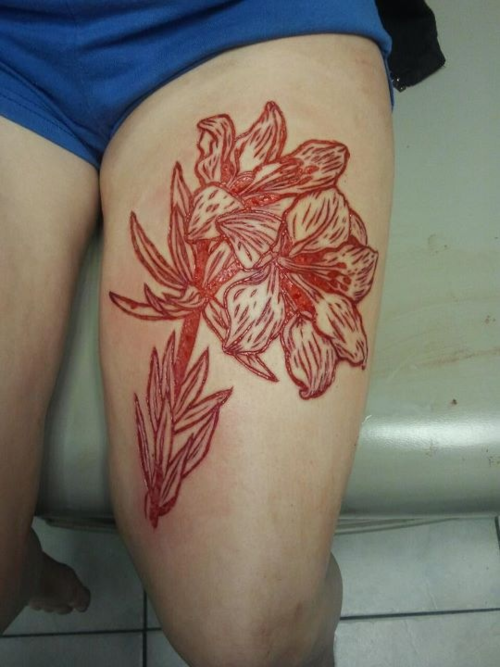 Blomster tattoo 2 tattoo og boligblog for Tattoos in reading pa