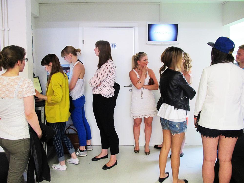 blogger event, alle deltagerne