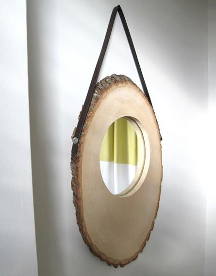 spejl med læderrem1
