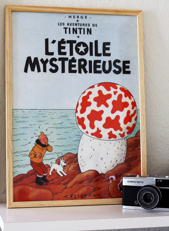Tintinplakater