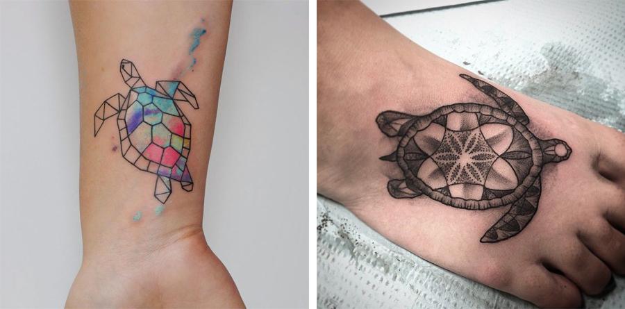 skildpadde tattoo