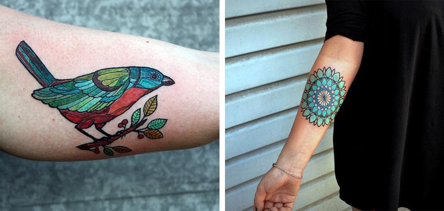 tattoo farver