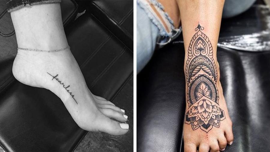 tatoveringer på foden