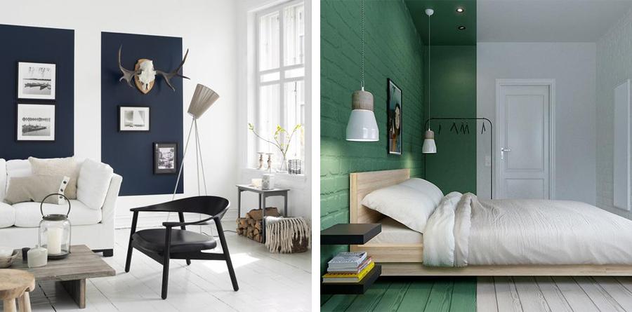 vægmaling At eksperimentere med vægmaling kan give unikke rum vægmaling