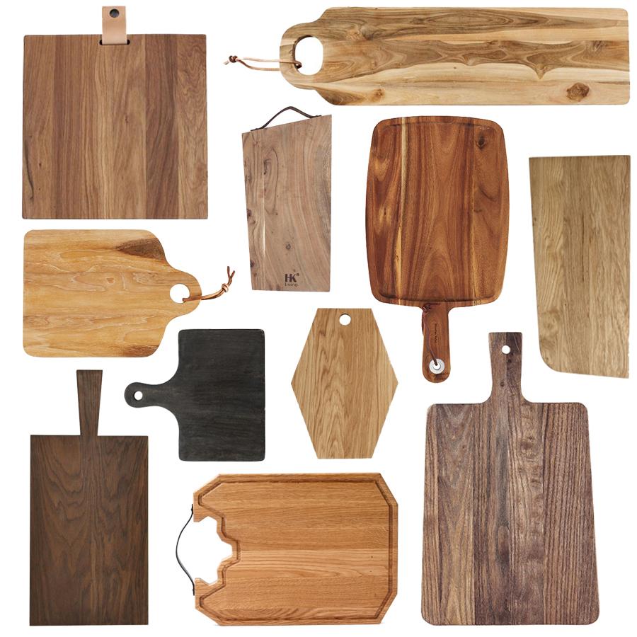træ-skærebrætter